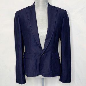 Ralph Lauren Black Labell Navy Blazer Size 8